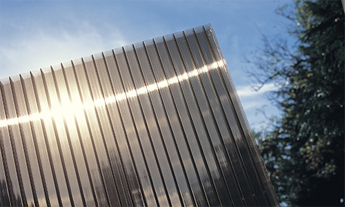Polycarbonate finish: Bronze